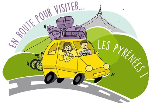 Visitez les Pyrénées depuis la Maison d'hôtes d'Anaïs