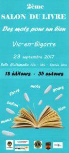 2ème salon du livre Vic en Bigorre @ Vic-en-Bigorre   Occitanie   France